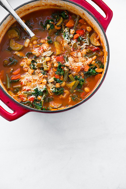 http://www.cookingclassy.com/2014/02/kale-quinoa-minestrone-vegan-gluten-free/