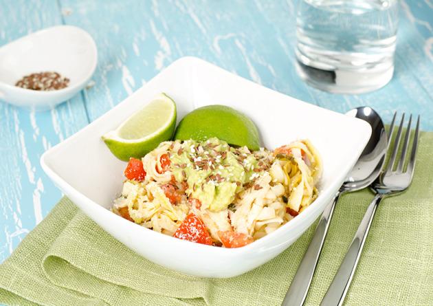 http://www.youngandraw.com/creamy-zucchini-salad/