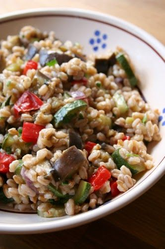 http://www.thebootblog.net/2014/04/farro-salad-with-roasted-vegetables.html
