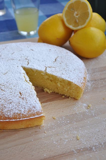Italian Lemon & Olive Oil Cake - All Top Food