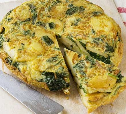 spanish-spinach-omelette