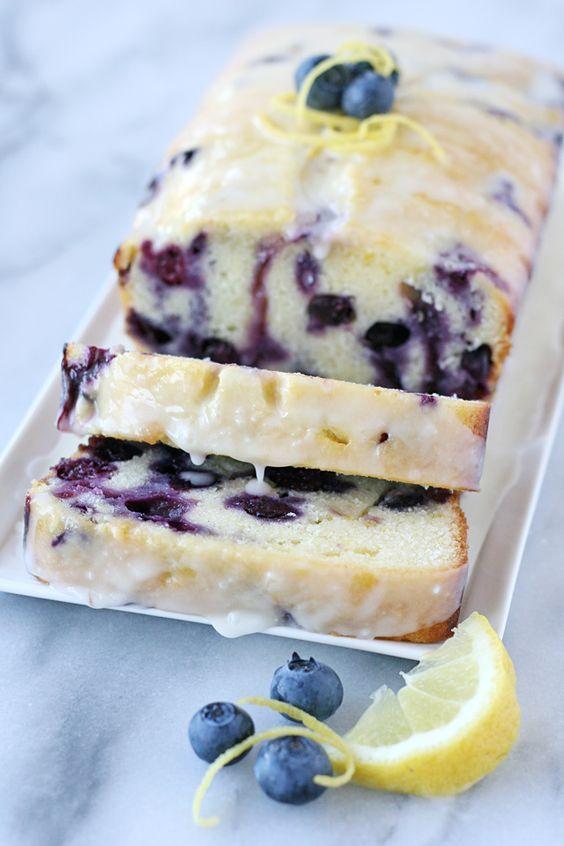 Tasty Lemon Blueberry Bread All Top Food