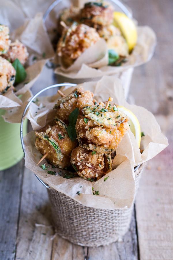 http://www.halfbakedharvest.com/mac-cheese-stuffed-fried-zucchini/