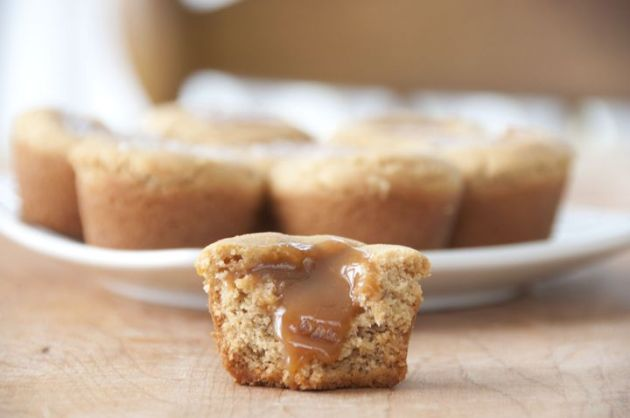 http://wishesndishes.com/salted-caramel-peanut-butter-cookie-cups/