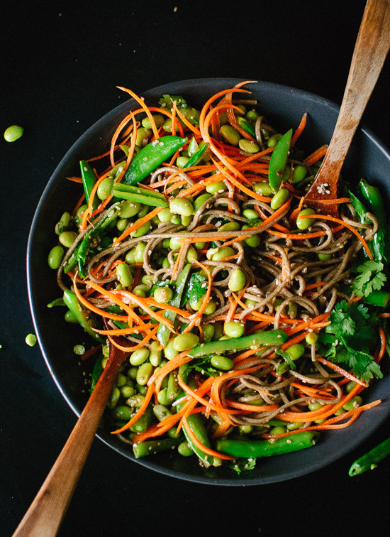 http://cookieandkate.com/2014/sugar-snap-pea-and-carrot-soba-noodles/