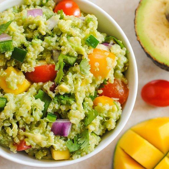 http://www.popsugar.com/food/Guacamole-Quinoa-Recipe-32238338