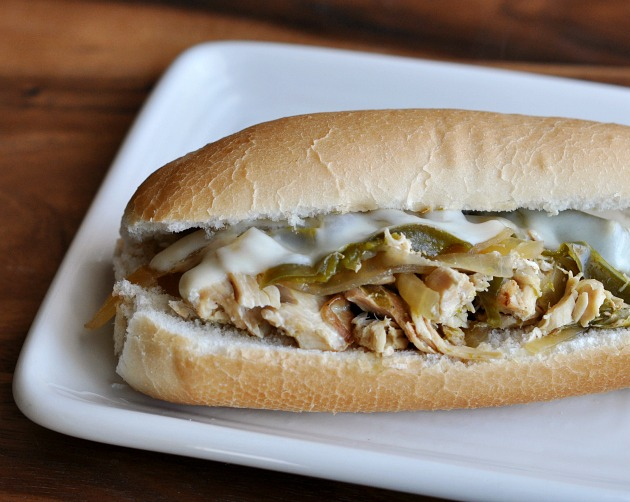 http://foodfamilyfinds.com/slow-cooker-chicken-philly-sandwiches-recipe/