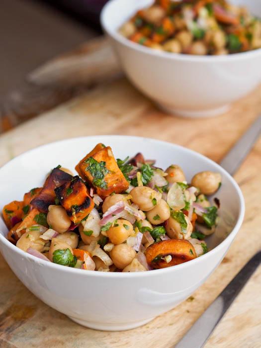 http://avocadopesto.com/2014/07/20/sweet-potato-chickpea-salad-gluten-free-vegan/