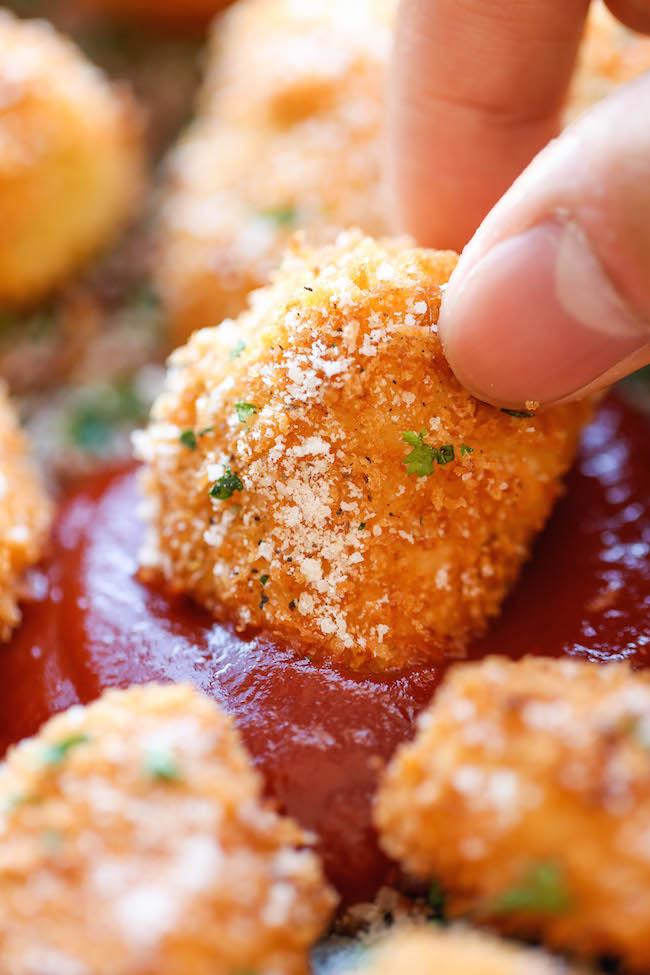 parmesan-chicken-bites